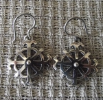 Sun Wheel Earrings By Anda Ozola