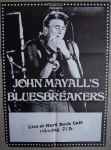John Mayall`s Bluesbreakers At Hard Rock Cafe, Stockhom