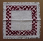 Small Latvian Napkin/Decorative Table Cloth