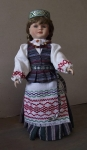Lithuanian Doll Rūta