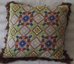 Large Pillow By Elza Avots