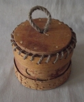 Birch Bark Container By Pēteris Zvirbulis