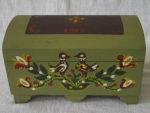 Lithuanian Box With Birds By Jurģis