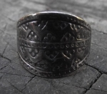 Couronian Shield Ring By Lielpurvs
